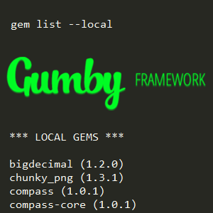 Fixing the Gumby Framework Compass Watch Frozen Array Error
