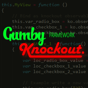 Integrating Knockout.js into the Gumby Framework UI