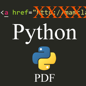 Using Python to Remove PDF Hyperlinks