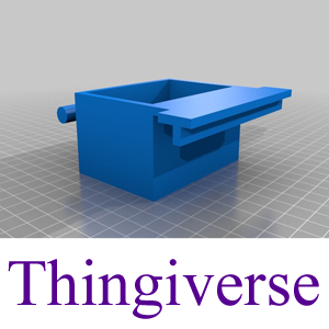 Thingiverse Model: The Bird Cage Dish