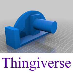 Thingiverse Model: The Food or Object Pusher