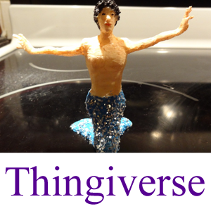 Thingiverse Model: The Merman