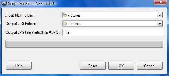 The Batch NEF to JPG option.