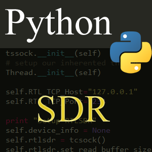 Using Python to Proxy RTL SDR Data From rtl_tcp.exe